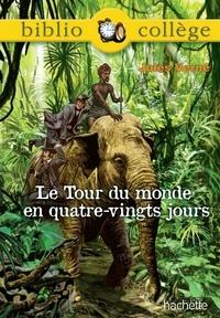 Marina Ghelber et Jules Verne - Bibliocollège - Le tour du monde en 80 jours - n° 73.