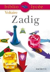Isabelle de Lisle et  Voltaire - Bibliolycée - Zadig ou la Destinée, Voltaire.