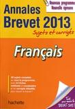 Brigitte Réauté et Michèle Laskar - Français Brevet - Sujets et corrigés.