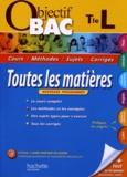 Jean-Rémy Cuenot et Isabelle de Lisle - Toutes les matières Tle L.
