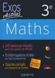Paul Fauvergue et Josyane Curel - Maths 3e.