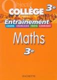 Josyane Curel et Pierre Curel - Maths 3e.