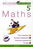 Pierre Curel et Josyane Curel - Maths 5e.