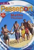 Jean-Pierre Devalance et Paul Fauvergue - Passeport Maths Sciences physiques de la 3e à la 2e.