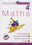 Pierre Curel et Josyane Curel - Maths 4e.
