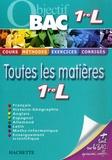 Sabine Bobée et François Perez - Toutes les matières 1e L.