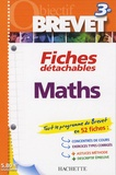 Josyane Curel et Pierre Curel - Maths 3e - Fiches détachables.