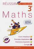 Michèle Blanc et Dominique Dejean - Maths 3e.