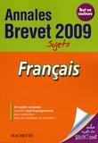Brigitte Réauté - Français Brevet - Sujets.