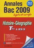 Catherine Guillerit - Histoire-Géographie Tles L/ES/S - Sujets et corrigés.