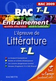 Véronique Brémond-Bortoli et Véronique Le Quintrec - L'épreuve de Littérature Tle L.
