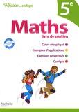 Pierre Curel et Josyane Curel - Maths livre de soutien 5ème.