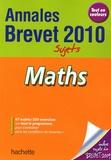 Philippe Rousseau - Maths 2010.