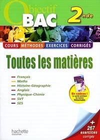 Laurent Berton et Alexandre Blin - Toutes les matières 2e.