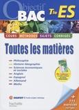 Alexandre Blin - Toutes les matières Tle ES.