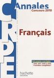 Véronique Bourhis et Laurence Allain Le Forestier - Français CRPE - Concours 2010.