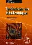 Claudio Cimelli et Roger Bourgeron - Guide du technicien en électronique - Pour maîtriser l'analyse et la conception. 1 Cédérom