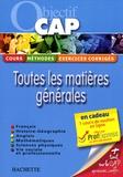 Frédéric Boutaine et Véronique Fafournoux - Toutes les matières générales.