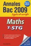 Nathalie Gillet - Maths Tle STG - Sujets et corrigés.