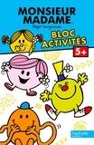 Roger Hargreaves - Bloc activités Monsieur Madame - 5+.