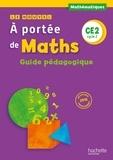Janine Lucas et Jean-Claude Lucas - Le Nouvel A portée de maths CE2 - Guide pédagogique.