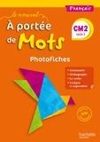 Marjolaine Aniento et Gaëlle Monteret - Français CM2 Le Nouvel A portée de mots - Photofiches + CD.