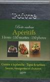 Stéphan Lagorce et Aude de Galard - Apéritifs - Boite à poivre 3 volumes.