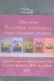 Aude de Galard et Leslie Gogois - Recettes exotiques - Boite à riz 5 volumes.
