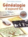 Pierre-Valéry Archassal - Généalogie d'aujourd'hui. 1 Cédérom