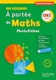 Janine Lucas et Jean-Claude Lucas - Le nouvel A portée de maths CM2 - Photofiches. 1 CD audio