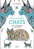 Mademoiselle Eve - Petits et grands chats - 60 coloriages anti-stress.