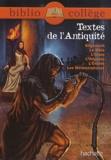Brigitte Wagneur - Textes de l'Antiquité.