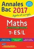 Maths obligatoire + spécialité Tles ES/L : Sujets et corrigés |