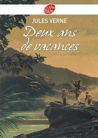Jules Verne - Deux ans de vacances - Texte Abrégé.