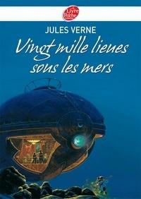 Jules Verne - Vingt mille lieues sous les mers - Texte abrégé.