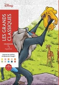 Coloriage Mystere Disney Leclerc.Les Grands Classiques Disney 9782013236669 Carrefour Livres
