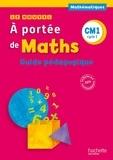 Janine Lucas et Jean-Claude Lucas - Mathématiques CM1 Le nouvel A portée de maths - Guide pédagogique.