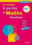 Janine Lucas et Jean-Claude Lucas - Mathématiques CM1 A portée de maths - Photofiches. 1 Cédérom