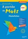 Janine Lucas et Jean-Claude Lucas - Français CM1 Le nouvel A portée de mots - Photofiches. 1 CD audio