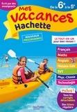 Cécile Meneu et Josyane Curel - Mes vacances Hachette de la 6e à la 5e.