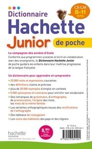 Dictionnaire Hachette Junior de Poche CE-CM, 8-11 ans