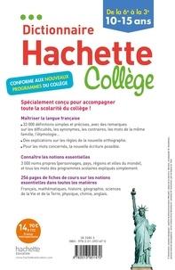 Dictionnaire Hachette Collège. De la 6e à la 3e