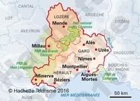 Languedoc. De Montpellier aux gorges du Tarn