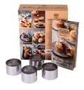 S'Cuiz'in - Moelleux, fondants et coulants Nestlé dessert - Avec 4 cercles à pâtisserie en métal.