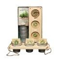 Hachette - Coffret herbes aromatiques - Faites pousser des herbes aromatiques dans votre cuisine.