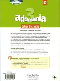 Adomania 3 A2. Cahier d'activités  avec 1 CD audio