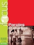 Elisabeth Guimbretière et Véronique Laurens - Focus, paroles en situations - A1-B2. 1 CD audio