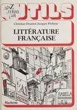 Jacques Pécheur et Christian Doumet - Littérature française.