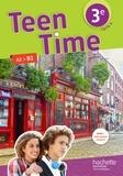Hachette Education - Anglais cycle 3e LV1 Cycle 4 Teen Time - Livre de l'élève.