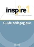 Jean-Thierry Le Bougnec et Marie-José Lopes - Inspire 1 Méthode de FLE - Guide pédagogique + audio (tests) téléchargeable.